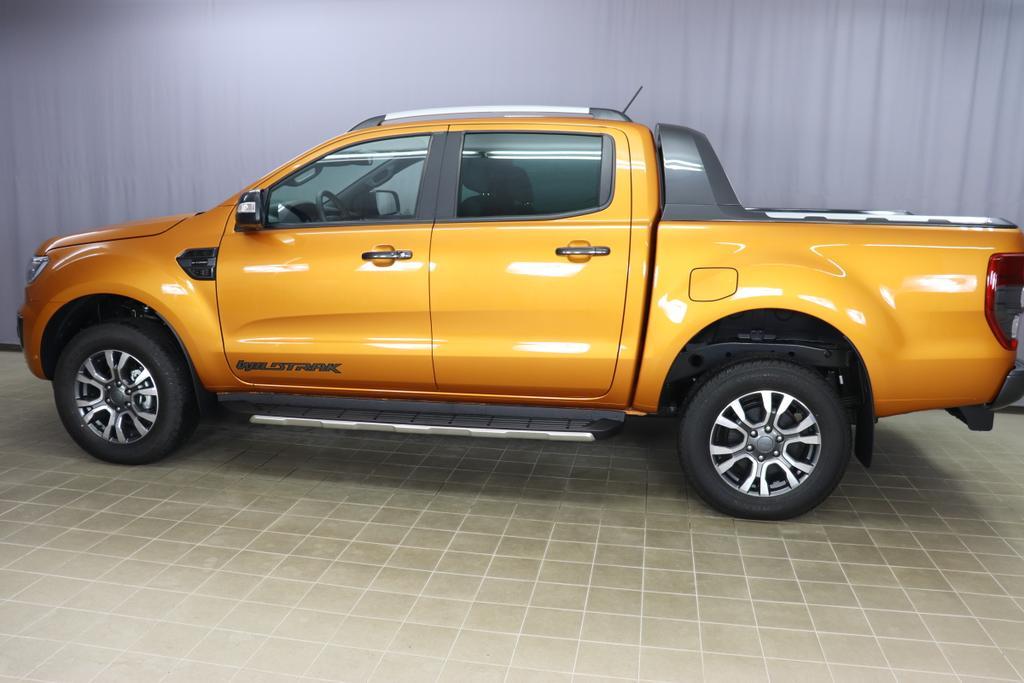 2,0 TDCi 157 KW 10Gang Automatik Ford Ranger Pick Up WildtrakOrange Metallic Mette in Ebony - Sitzpolster: Journey Grain-Leder in Ebony