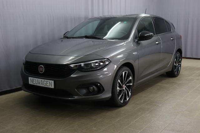 Fiat Tipo 5-Türer - S-DESIGN Sie sparen 7.910 Euro 1,4 88KW Navigationssystem, Bi-Xenon Scheinwerfe, DAB, MJ 2020, Rückfahrkamera, Apple CarPlay, Licht- und Regensensor, Sitzheizung vorn, 18