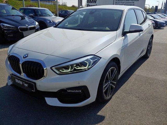 BMW 1er - 118d 5-Türer Aut SportLine Comfort+Businesspaket