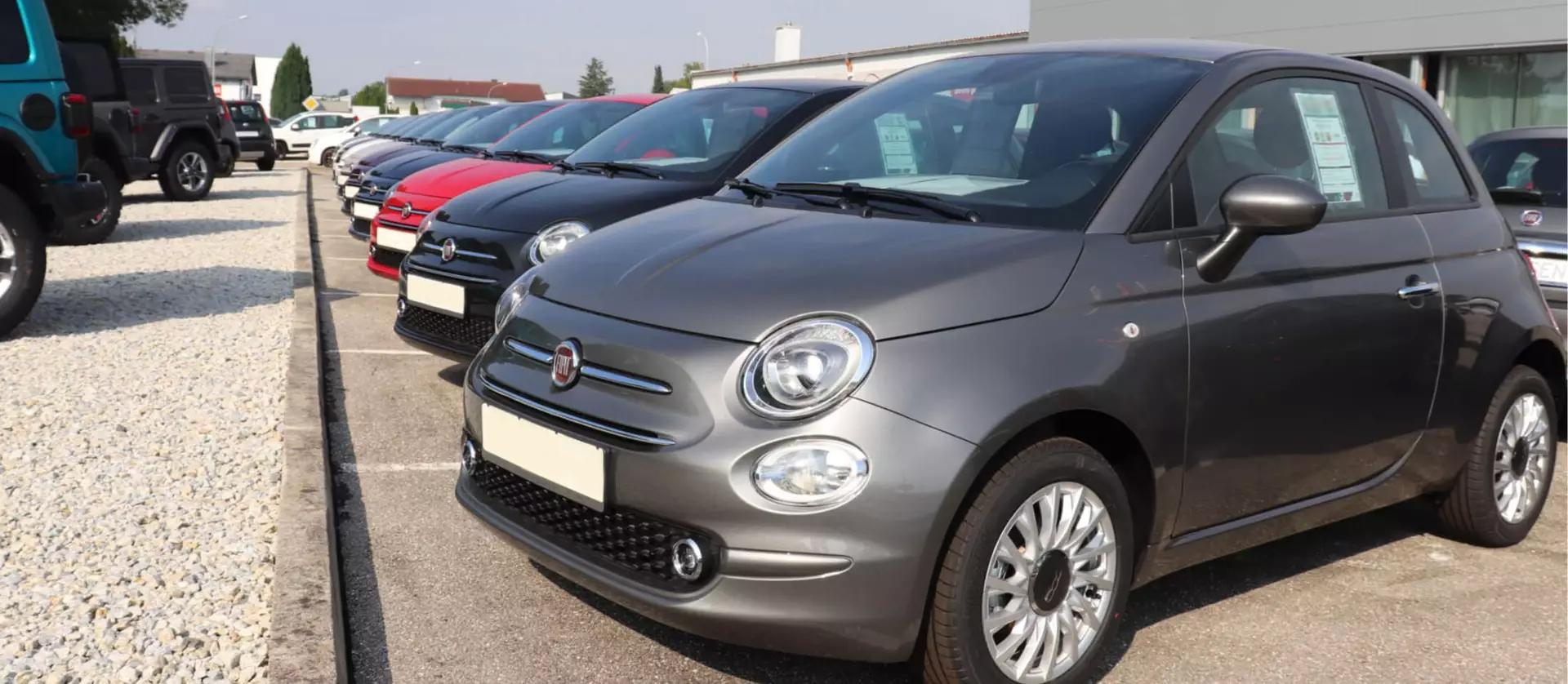 Fiat 500 in vielen Farben und Ausstattungen zum besten Preis