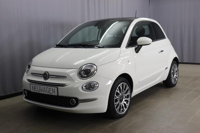 Fiat 500 - Star Sie sparen 6.300 Euro 1,2 8V Automatik, Sky-Dome Panorama, Navigationssystem, DAB, Klimaautomatik, PDC hinten, Apple Carplay / Android Auto, Licht und Regensensor, 16 Zoll Alufelgen, Notrad uvm.