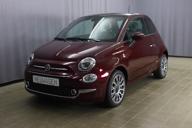 Fiat 500 - Star Sie sparen 6.240 Euro 1,2 8V Automatik, Sky-Dome Panorama, Navigationssystem, DAB, Klimaautomatik, PDC hinten, Apple Carplay / Android Auto, Licht und Regensensor, 16 Zoll Alufelgen, Notrad uvm.