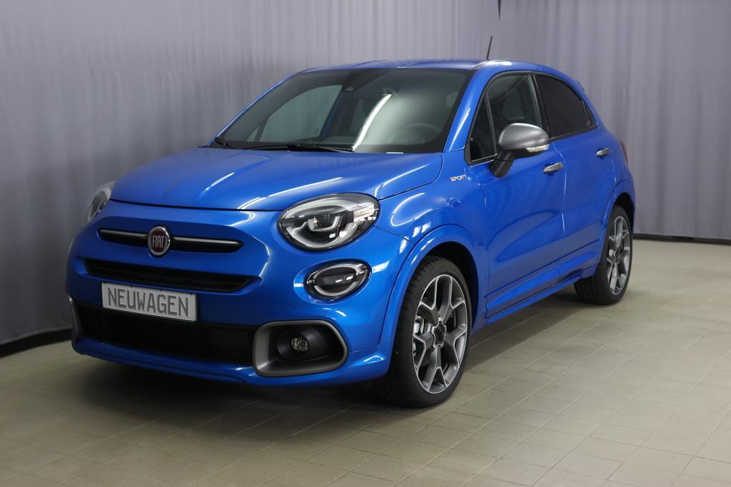 500X Sport MY20 1,3 110 kW Automatik (E6D Temp)018 Italia Blau