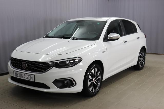 Fiat Tipo 5-Türer - MIRROR MORE Sie sparen 6.380 Euro 1,4 T-Jet , Uconnect Navigation, RDS Audio-Anlage Digitalradio, Apple Android, 16 Zoll Alufelgen, Sitzheizung vorne, Klimaautomatik, Nebelscheinwerfer, LED Tagfahrlicht, uvm.