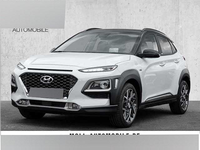 Hyundai Kona - 1.6 GDI DCT Hybrid Premium Navi-Paket ASCC Klimaauto PDC Sitzheizung