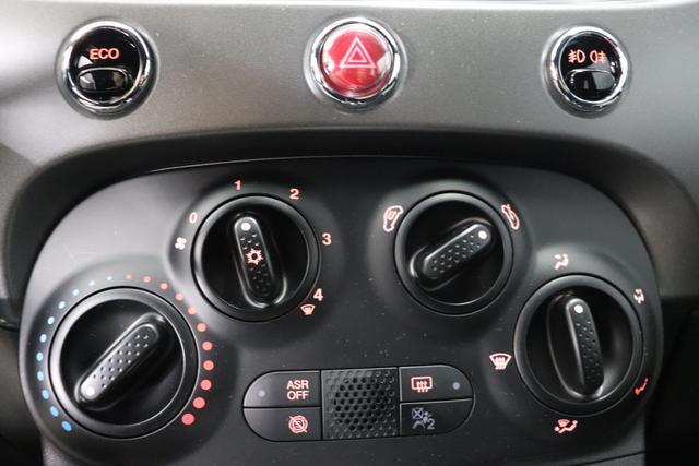 Fiat 500 Sport 0,9 8V Twin Air Benzin 63kW 85PS Schalter Carrara Grau