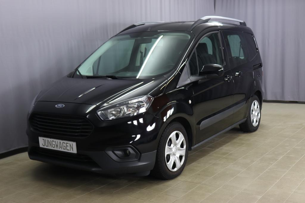 Ford Transit Courier Eco Boost Kombi  Trend 6 Gang Schwarz stoff anthrazit