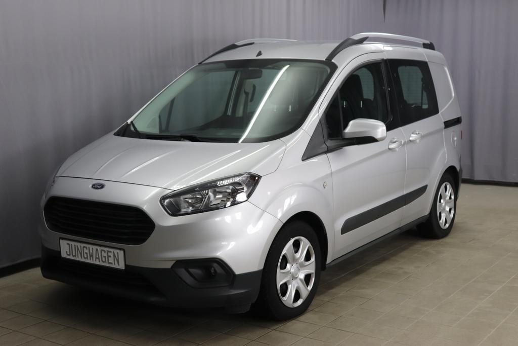 Ford Transit Eco Boost Kombi Trend Benzin 101PS 6 Gang Polar Silber Stoff anthrazit