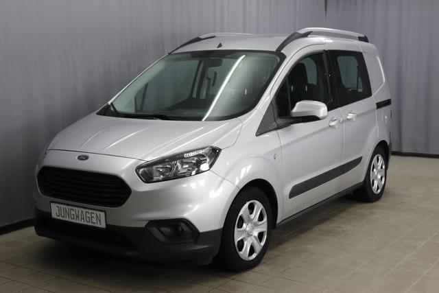 Gebrauchtfahrzeug Ford Transit - Trend Kombi 1.0 101PS, Klimaanlage, Isofix, Radio, Freisprecheinrichtung, Berganfahrassistent, Dachreling, Nebelscheinwerfer, 15 Zoll Stahlfelgen, uvm.