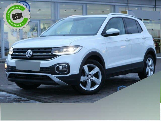 Volkswagen T-Cross - 1.5 TSI DSG STYLE NAVI+LED+AHK+KAMERA+BL