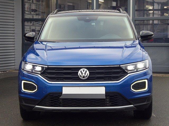 Volkswagen T-Roc - Style TSI +DACH SCHWARZ+LED+KAMERA+ACC+SPU