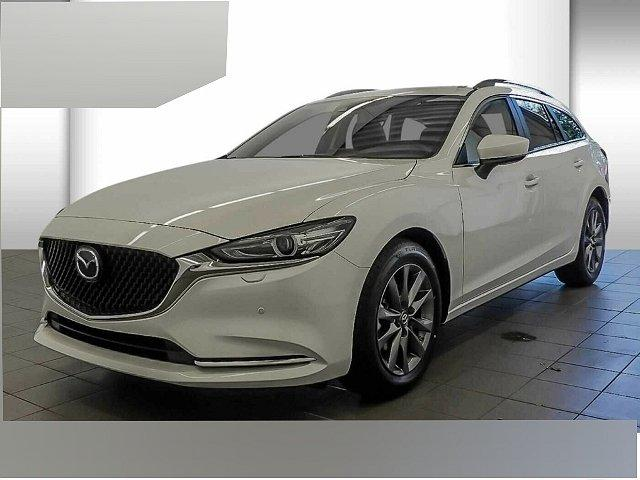 Mazda Mazda6 Kombi - 6 SK SKYACTIV-G 145FWD 6GS EXCLUSIVE LED Navi Kurvenlicht HUD ACC Rückfahrkam. Fernlichtass.