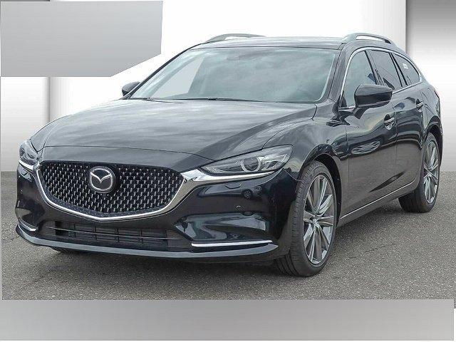 Mazda Mazda6 Kombi - 6 SKYACTIV-D 184 Drive i-ELOOP Sports-Li LED Navi Kurvenlicht Klimasitze e-Sitze
