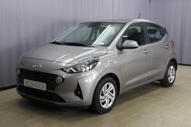Hyundai i10 - Pure 1.0 MPI 49kW 67PS, Klimaanlage, Lederlenkrad mit Multifunktionen, Lichtsensor, Spurhalteassistent, Bluetooth, Freisprecheinrichtung, Nebelscheinwerfer, 14 Zoll Stahlfelge, uvm.