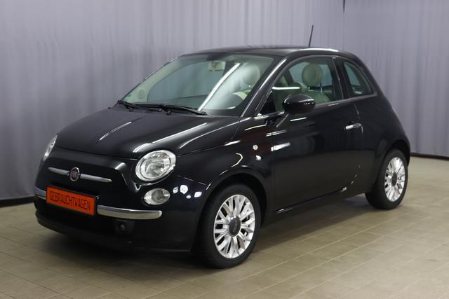 Fiat 500 - Lounge 1.2 69PS, Automatik, Panoramadach, Klimaanlage, Navigationsgerät Tom Tom, Blue&Me, Freisprecheinrichtung, PDC hinten, 15 Zoll Leichtmetallfelgen, uvm.