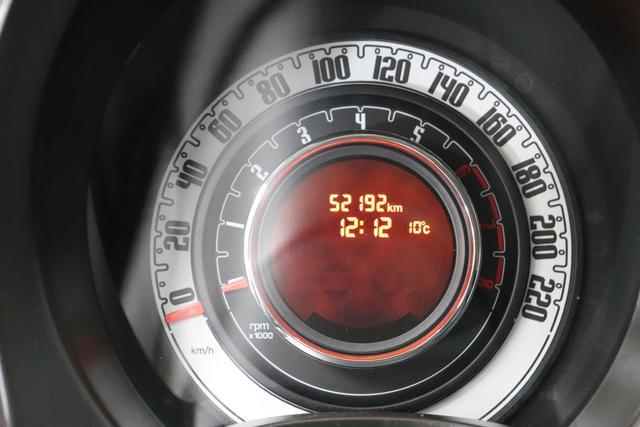 Fiat 500C 51kW 69PS Vesuvio Schwarz stoff