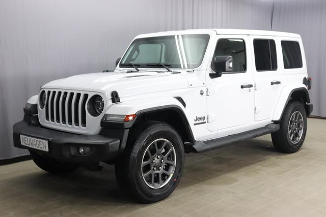 Jeep Wrangler - 80th Anniversary 2,0 T-GDI 4WD 200 kW 272 PS MY21, Automatikgetriebe, Voll-Leder, Navigationsystem, 18