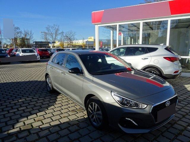 Hyundai i30 - 1.6 CRDi 7-DCT Sonderedition YES! +NAVI+RÜCKFAHRKAMER+KLIMA+TEMPOMAT+SHZ+PDC+LICHTSENSOR