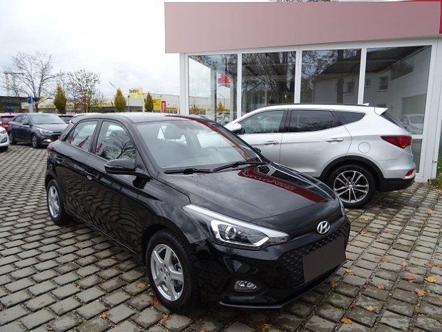 Hyundai i20 - YES! Plus 1.2 +NAVI+RÜCKFAHRKAMERA+KLIMAANLAGE+TEMPOMAT+BLUETOOTH+SZH+LICHTSENSOR