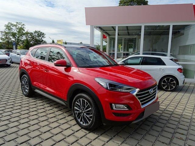 Hyundai Tucson - FL 1.6 CRDi 136PS 7-DCT Style +NAVI+RÜCKFAHRKAMERA+PANO+360+ACC+PDC v+h+LICHTSENSOR+KLIMA