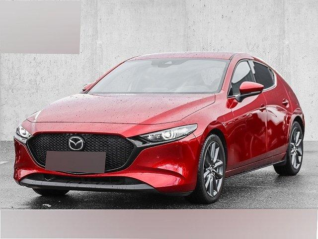 Mazda Mazda3 5-Türer - 3 Selection SKYACTIV-G 2.0 M-Hybrid EU6d-T Leder LED Navi Keyless e-Sitze HUD ACC Rückfahrkam.