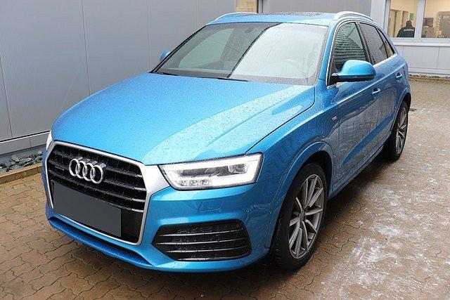 Audi Q3 - 2.0 TFSI quattro S-Tronic design S-Line AHK,Nav