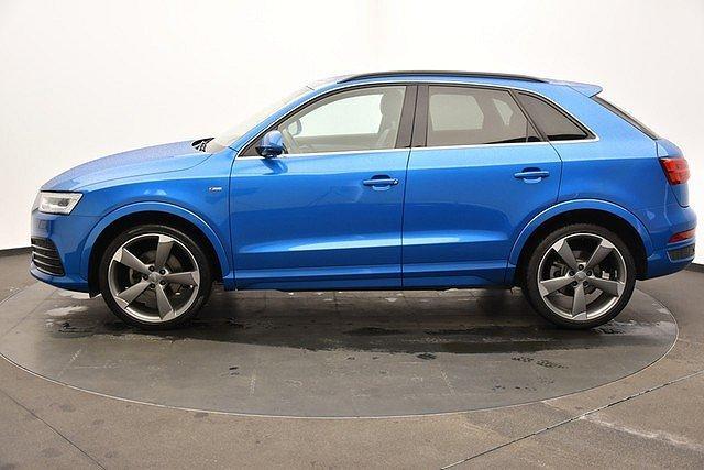 Audi Q3 2.0 TDI Quattro S-tronic 2xS-line-Paket LED/AHK