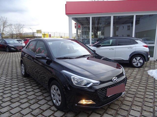 Hyundai i20 - Go 1.2 +KLIMAANLAGE+RADIO+EINPARKHILFE+BLUETOOTH+ZV MIT FERNBEDIENUNG