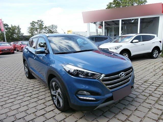Hyundai Tucson - 1.6 GDi Turbo Style +ALLRAD+LEDER+NAVI+RÜCKFAHKAMERA+LICHTSENSOR+REGENSENSOR+TEMPOMAT