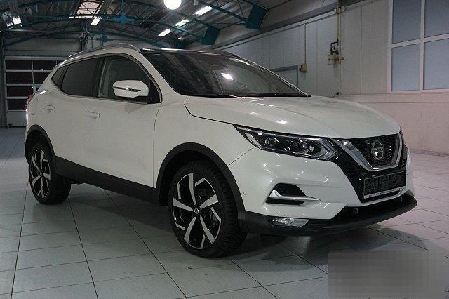 Nissan Qashqai - 1,7 DCI XTRONIC AUTO. ALL-MODE 4X4I TEKNA NAVI LED PANO FRONTSCHEIBE LM19