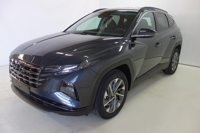 "Vorlauffahrzeug Hyundai Tucson - Smart Line 1,6 CRDi 4WD 48V DCT MY21, 18 Zoll Leichtmetallfelgen, Kühlergrill in Dark Chrome, LED Hauptscheinwerfer, Apple CarPlay mit 8"" LCD Farbdisplay, Klimaautomatik uvm."