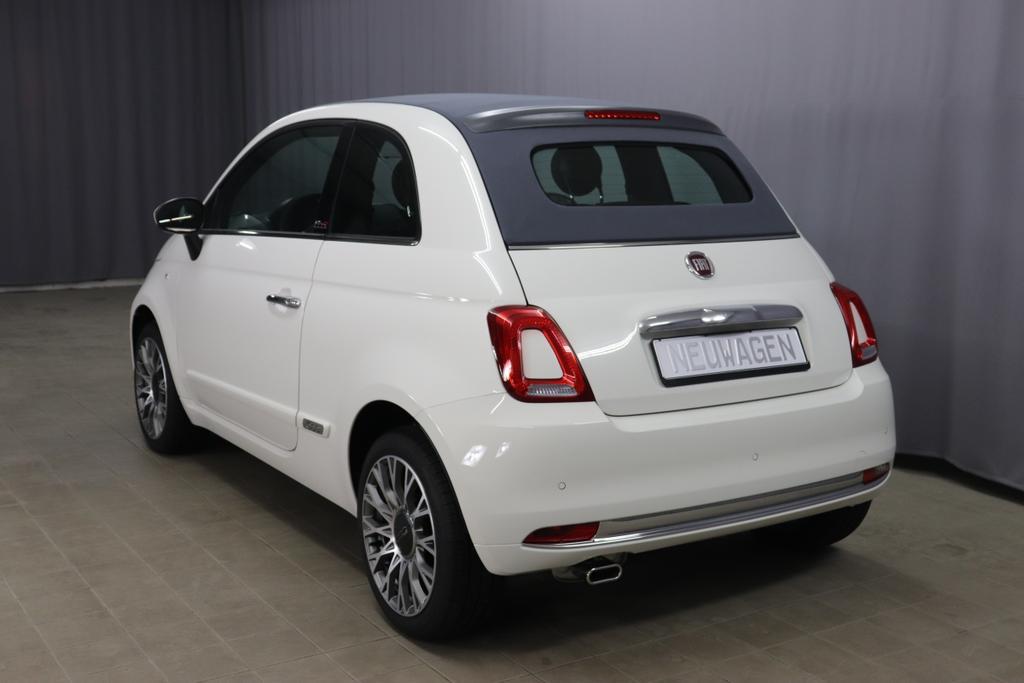 Fiat 500 Cabrio 1,2 8V S&S  Dualogic Star 51kW 69 PSRe 8.1.