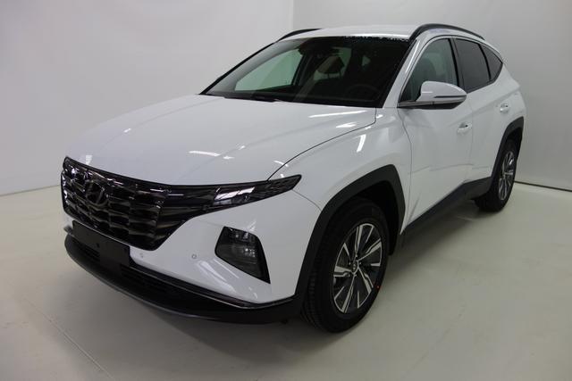 Lagerfahrzeug Hyundai Tucson - Trend Line 1.6 T-GDI HYBRID 4WD 6AT MY21, 17 Zoll Leichtmetallfelgen, Navigationssystem mit 10,25 Farbdisplay, Rückfahrkamera, Apple CarPlay, Technik Paket uvm.