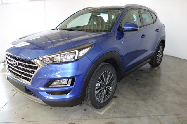Hyundai Tucson - Trend 1.6 T-GDI 4WD 19 Zoll Aluminiumfelgen, Navigationssystem inkl. Rückfahrkamera / DAB-Radio, Apple CarPlay & Android Auto, Klimaautomatik, Sitzheizung, Einparksensoren hinten uvm.