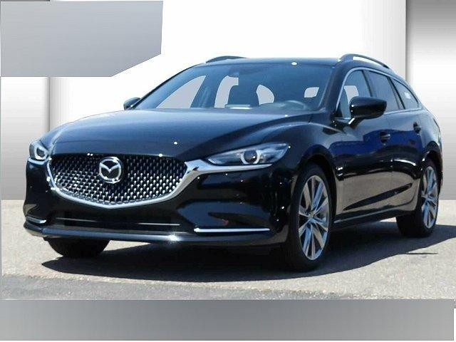 Mazda Mazda6 Kombi - 6 SKYACTIV-D 184 Drive i-ELOOP Sports-Li LED Navi Dyn. Kurvenlicht e-Sitze HUD
