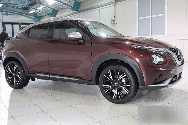 Nissan Juke - 1,0 DIG-T 5T DCT AUTO. N-DESIGN NAVI EXT-SILBER INT-SCHWARZ