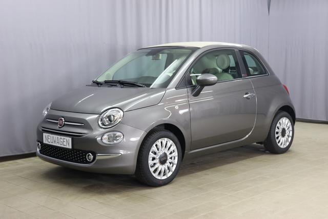 Fiat 500C - Lounge Sie sparen 6.330 Euro 1,0 GSE Hybrid Verdeck ELFENBEIN, Navigationssystem, DAB, Apple CarPlay, Klimaautomatik, 15
