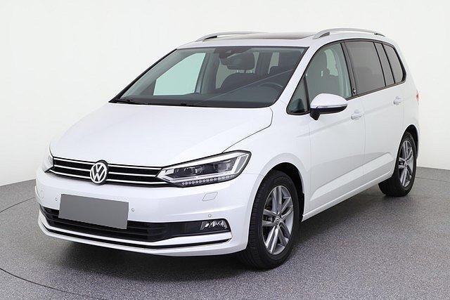 Volkswagen Touran - 1.6 TDI DSG Sound LED ACC Pano AHK App 7Sit