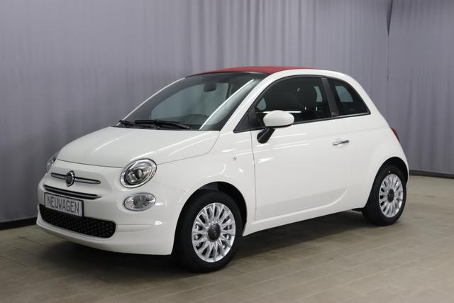 "Lagerfahrzeug Fiat 500C - Lounge UVP 20.320 Euro, 1.0 GSE Verdeck Rot, Radio DAB, Apple CarPlay, Klimaanlage, 15"" Leichtmetallfelgen, LED Tagfahrlicht, PDC hinten, uvm."