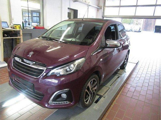 Peugeot 108 - 1.2 VTi TOP! Allure Kamera SHZ Klima Bluetoo