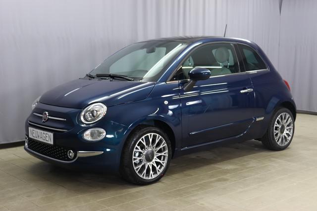 Lagerfahrzeug Fiat 500 - Star 1.0 GSE N3 BSG Hybrid 6GANG, Navigation, Radio DAB, Licht und Regensensor, PDC hinten, Nebelscheinwerfer, Seitenschutzleisten in Wagenfarbe inklusive Badges, Notrad uvm