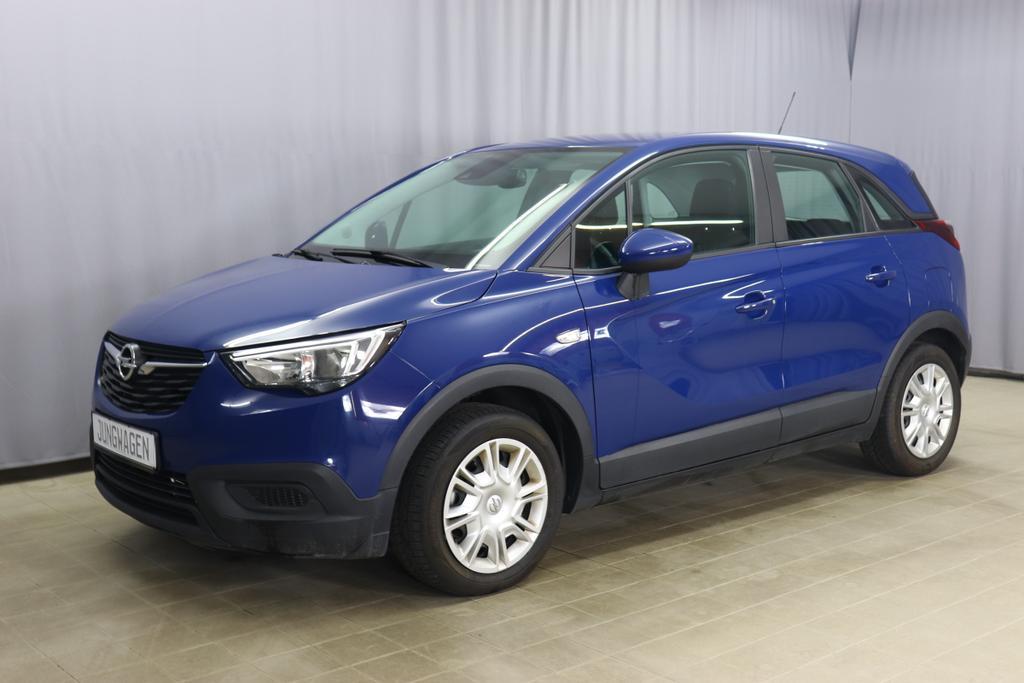 Opel Crossland X 1.2 Enjoy Benzin 83PS Blau Stoff