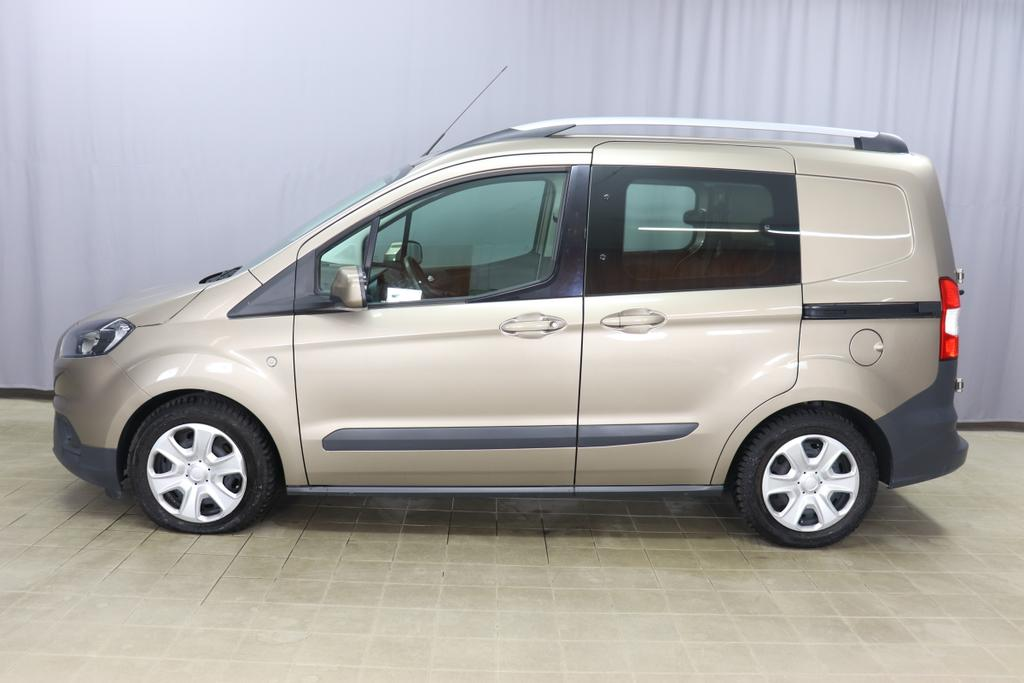 Ford Transit Courier 1.0 Eco Boost Trend Benzin 74kW 101PS 6 Gang Pyrit Silber stoff