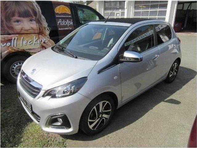 Peugeot 108 - 1.2 VTi / PT82 TOP! Allure SHD Kamera SHZ Kl