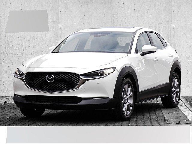 Mazda CX-30 - SKYACTIV-X 2.0 M-Hybrid Automatik SELECTION Leder Glasschiebedach LED