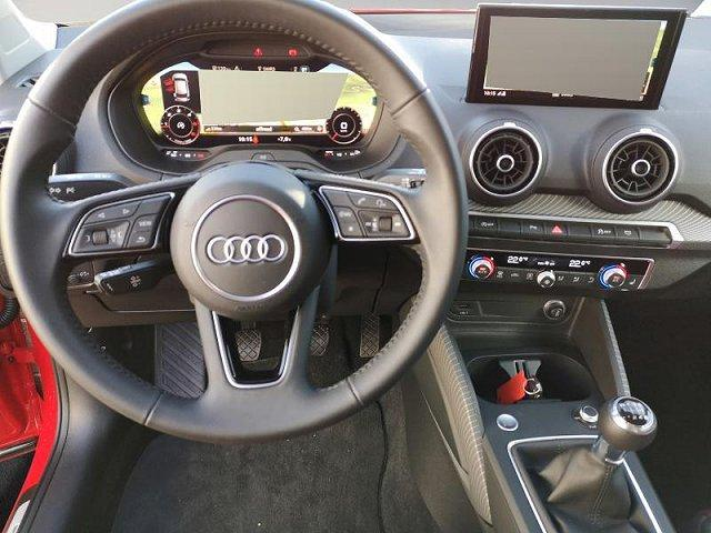 Audi Q2 30 TDI sport S-Line LED Navi Kamera virtual DAB Keyless elektr. Heckklappe Tempomat