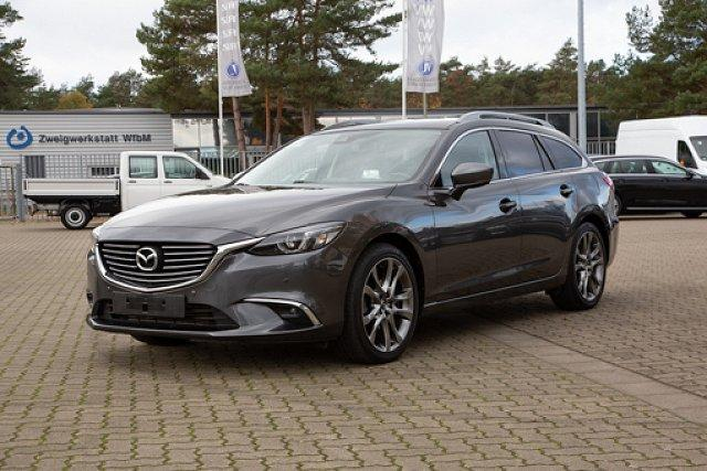 Mazda Mazda6 Kombi - 6 SPORTS-LINE 2.2CD AUTOMATIK *AWD* +LEDER