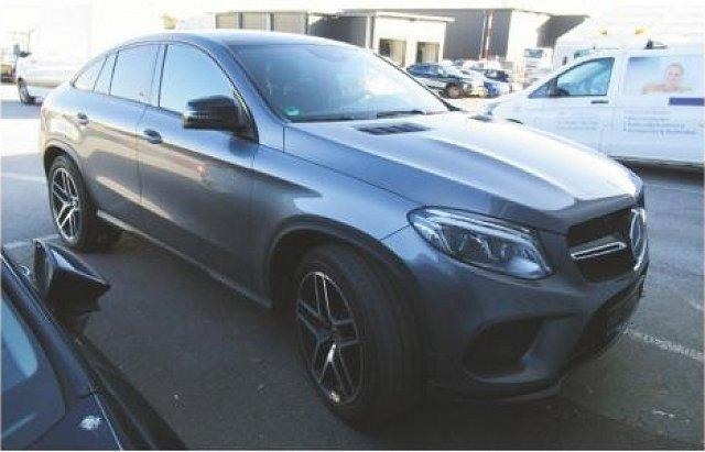 Mercedes-Benz GLE SUV - 350 d 4M Coupé AMG Sport Night Abstandstemp.