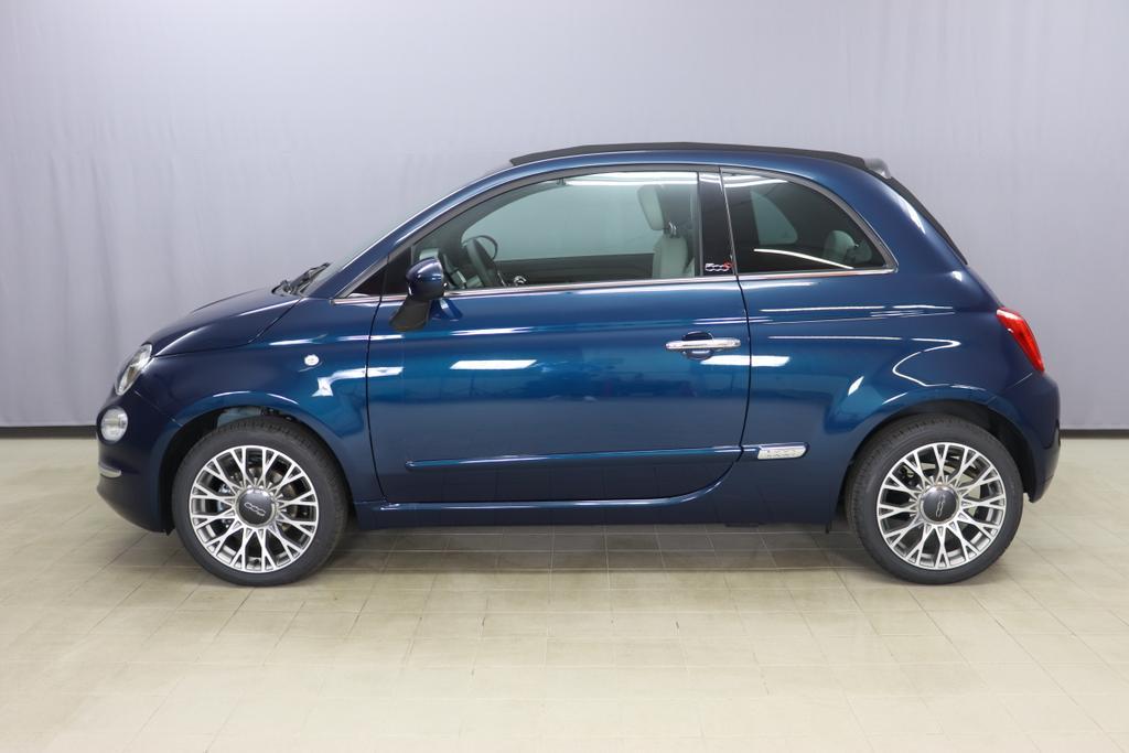 1.0 GSE N3 500C Cabrio Star BSG Hybrid 6GANG Re 6.4.  bez. 23.4.687 Dipinto di Blu Blau