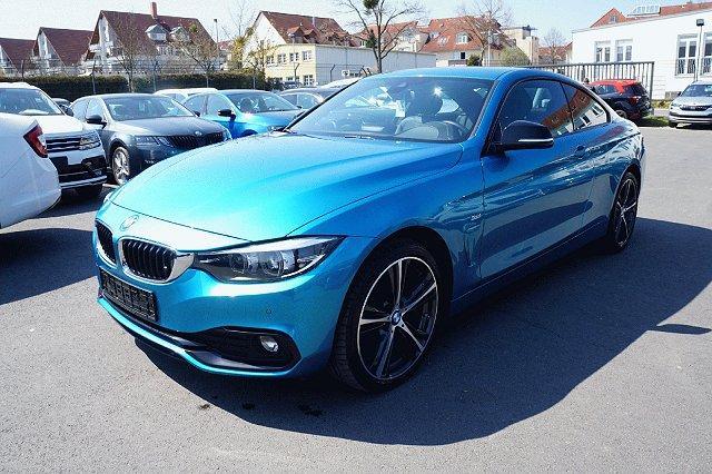 BMW 4er - 420 d xDrive Sport Line*Navi*HiFi*DAB*19 Zoll*